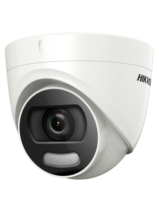 Hikvision 2MP ColourVu HD 1080P Dome Turret CCTV Camera White IP66