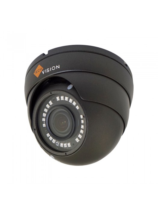 4MP AHD Varifocal Dome Camera Grey