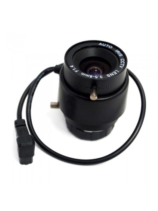 Auto Iris CCTV LENS 3.5 - 8 mm for Body Camera F1.4 1/3'' CS Box Camera AVENIR