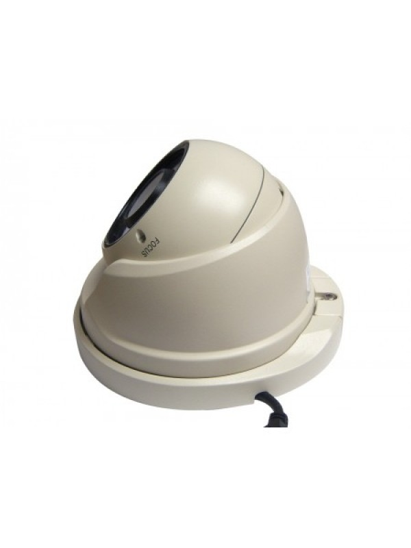 3MP IP Varifocal Dome Camera White
