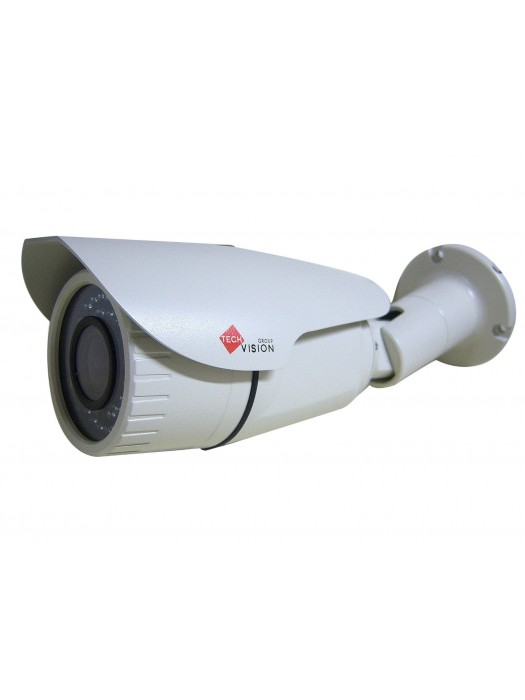 720p AHD Hd Cmos 1.3mp 2.8-12mm Manual Lens 42 Led Ir Cctv Bullet Camera Beige