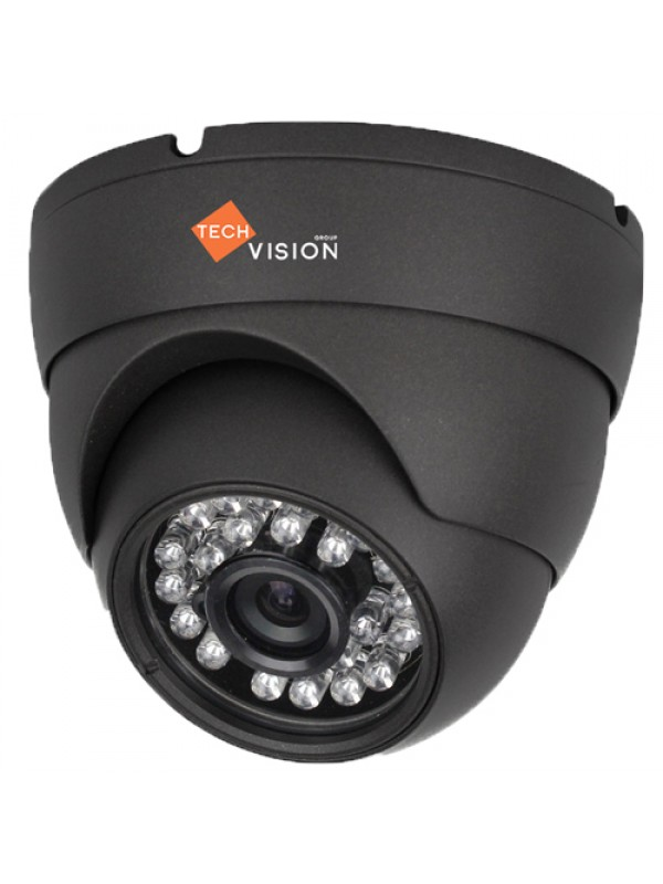 2mp HD Dome Camera 3.6mm Lens Grey