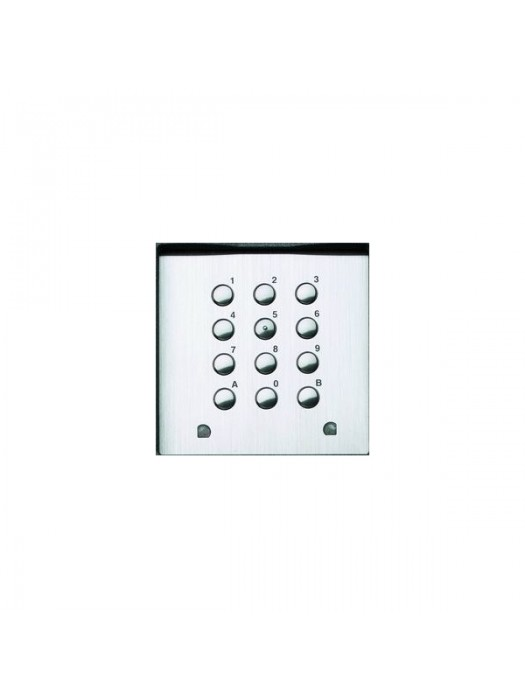 Anti-vandal Keypad + Front Plate And Buttons In Acid-resistant Stainless Steel